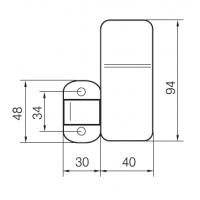 Блокиратор-пломбир EH900