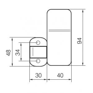 Блокиратор-пломбир EH901