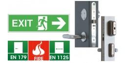 Электромеханические замки ABLOY EXIT для аварийного и эвакуационного выходов
