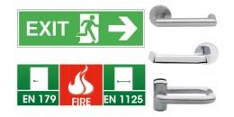 Ручки ABLOY EXIT для аварийных и эвакуационных выходов