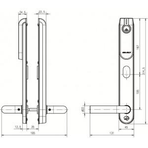 E100 SCAND Standard. Беспроводной щиток ASSA ABLOY