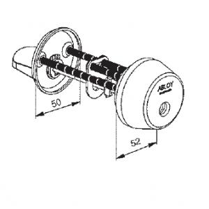Цилиндр CY013N (protec)