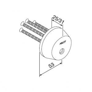 Цилиндр CY016T (protec2)