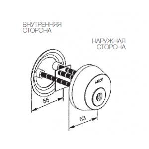 Цилиндр CY033N (protec)