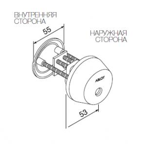 Цилиндр CY037C (classic)