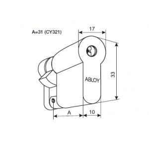 Цилиндр CY321T (protec2)