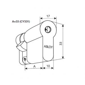 Цилиндр CY331N (protec)