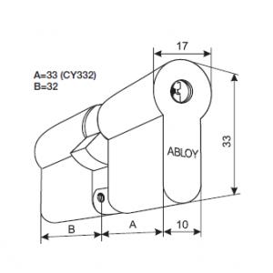 Цилиндр CY332T (protec2)