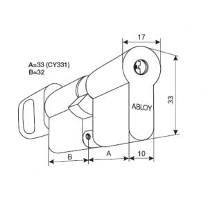 Цилиндр CY333N (protec)