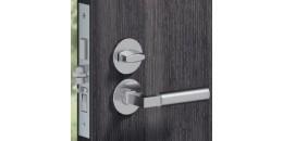 Нажимные (фалевые)  ручки для сплошных дверей