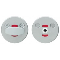 Поворотная кнопка для туалетных дверей LH001 WC (FE)
