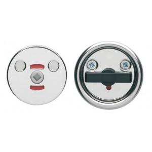 Поворотная кнопка для туалетных дверей LH0341