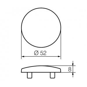 Покрывающий щиток LH002 P (RT)