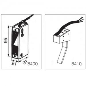 Корпус с микропереключателем 8410
