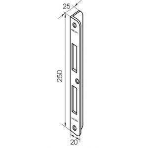 Запорная планка EA323