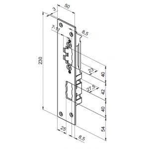 Запорная планка LP764