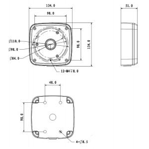 DH-PFA123 распределительная коробка