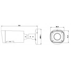 DH-HAC-HFW1100RP-VF, HDCVI видеокамера