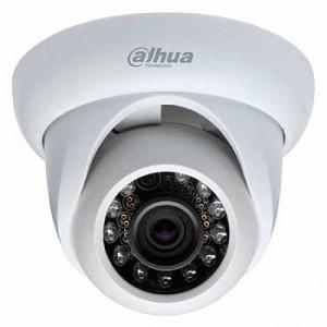 DH-IPC-HDW1020SP Видеокамера IP купольная, 720p (25к/с)
