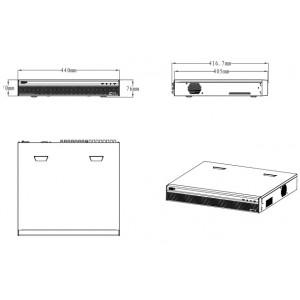 DHI-XVR5432L 32-канальный мультиформатный видеорегистратор, 1080p