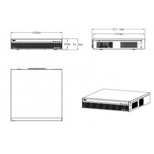 DHI-XVR5832S 32-канальный мультиформатный видеорегистратор, 1080p