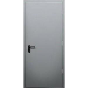 ДПО-60EI дверь одностворчатая противопожарная сплошная